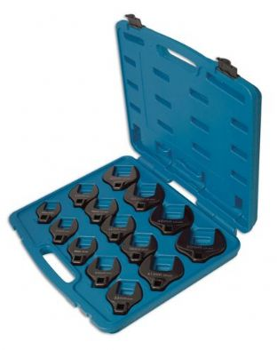 Laser 4713 Crows Foot Wrench Set 14 piece